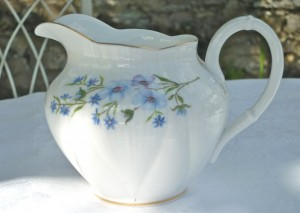 Blue Forget Me Nots tea Set