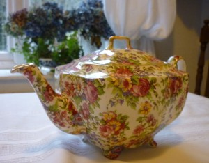 Claridges Chintz Tea Pot