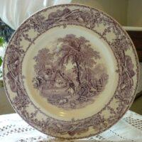 Purple Tea Plate