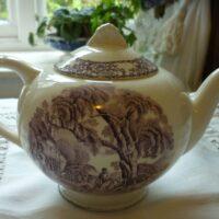 Purple Tea Pot