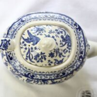 Blue Regal Peacock Teapot