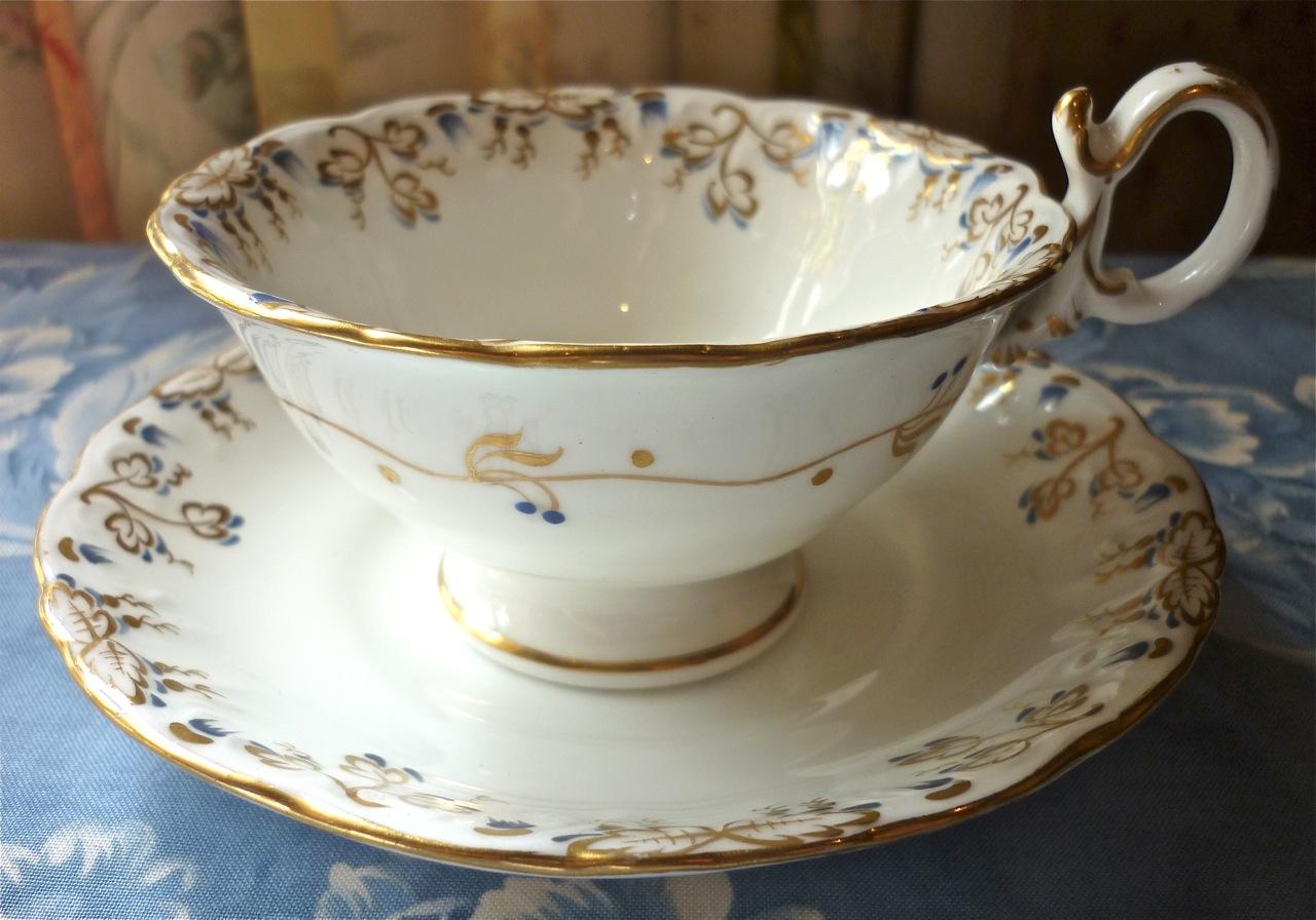 Victorian Swan Tea Set